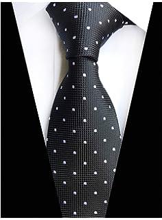 2b0095d16254 Elfeves Men Modern Tartan Formal Ties Checks Plaid Gingham Pattern Woven  Necktie