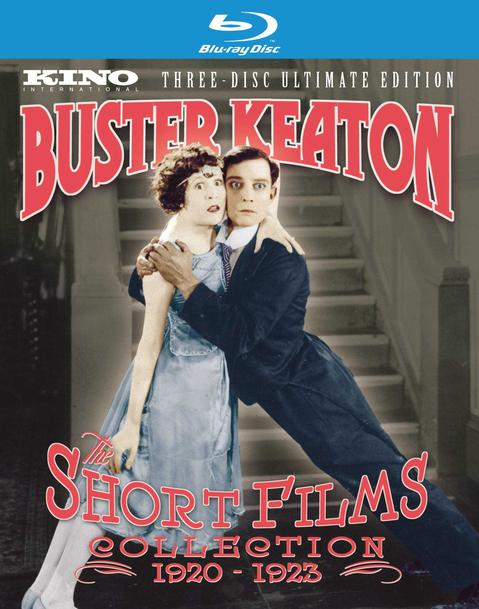 Buster Keaton Short Films Collection: 1920-1923 (Three-Disc Ultimate Edition) [Blu-ray] by Kino Lorber films
