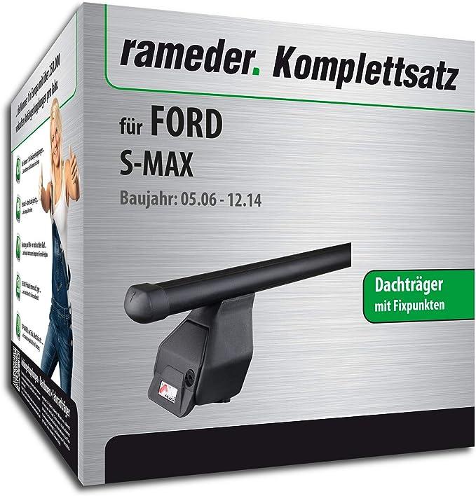 Rameder Komplettsatz Dachträger Tema Für Ford S Max 118794 05542 1 Auto