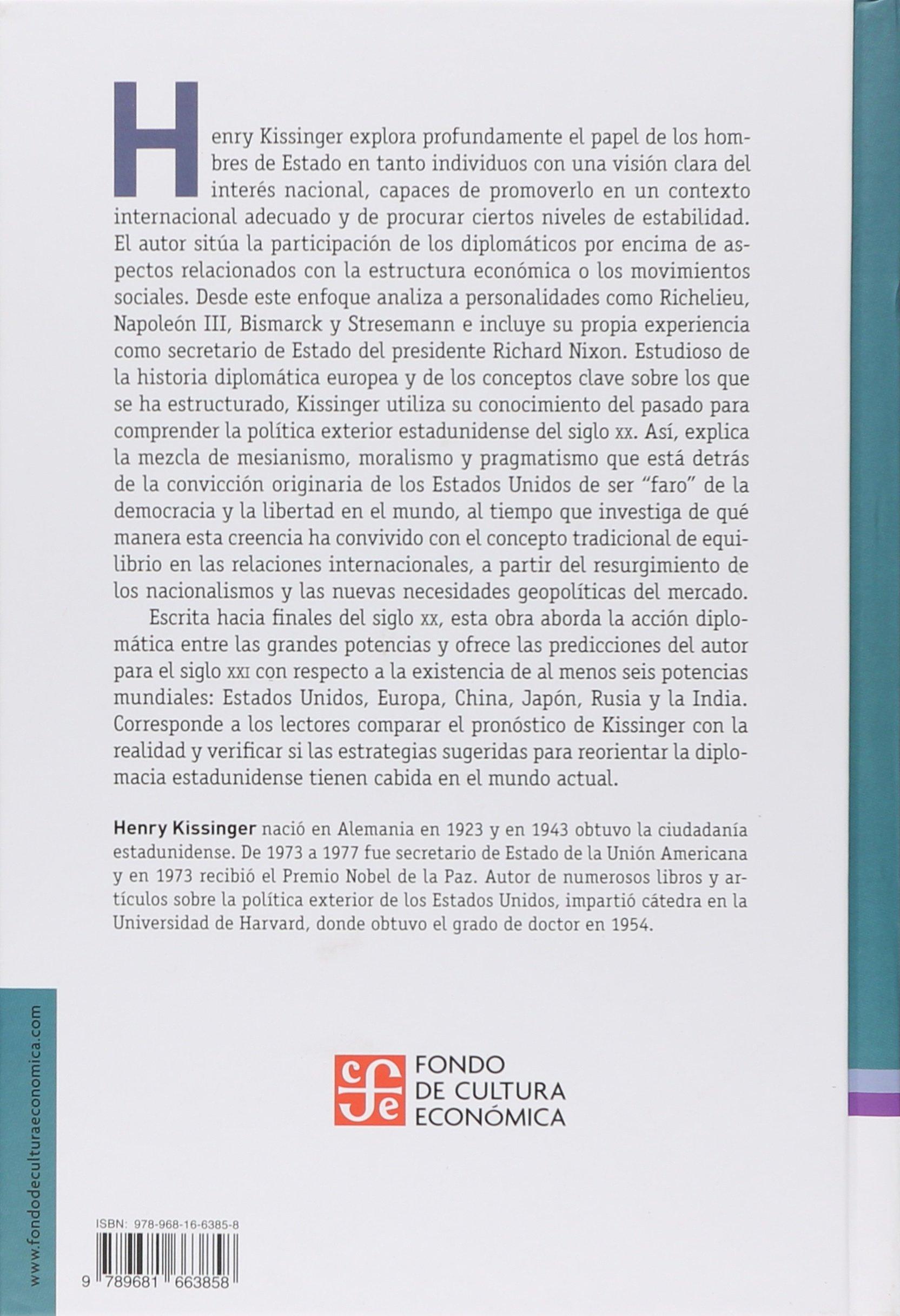 La diplomacia (Spanish Edition): Kissinger Henry ...