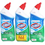 Clorox Manual Toilet Bowl Cleaner - Fresh Scent, 3 x 709ml
