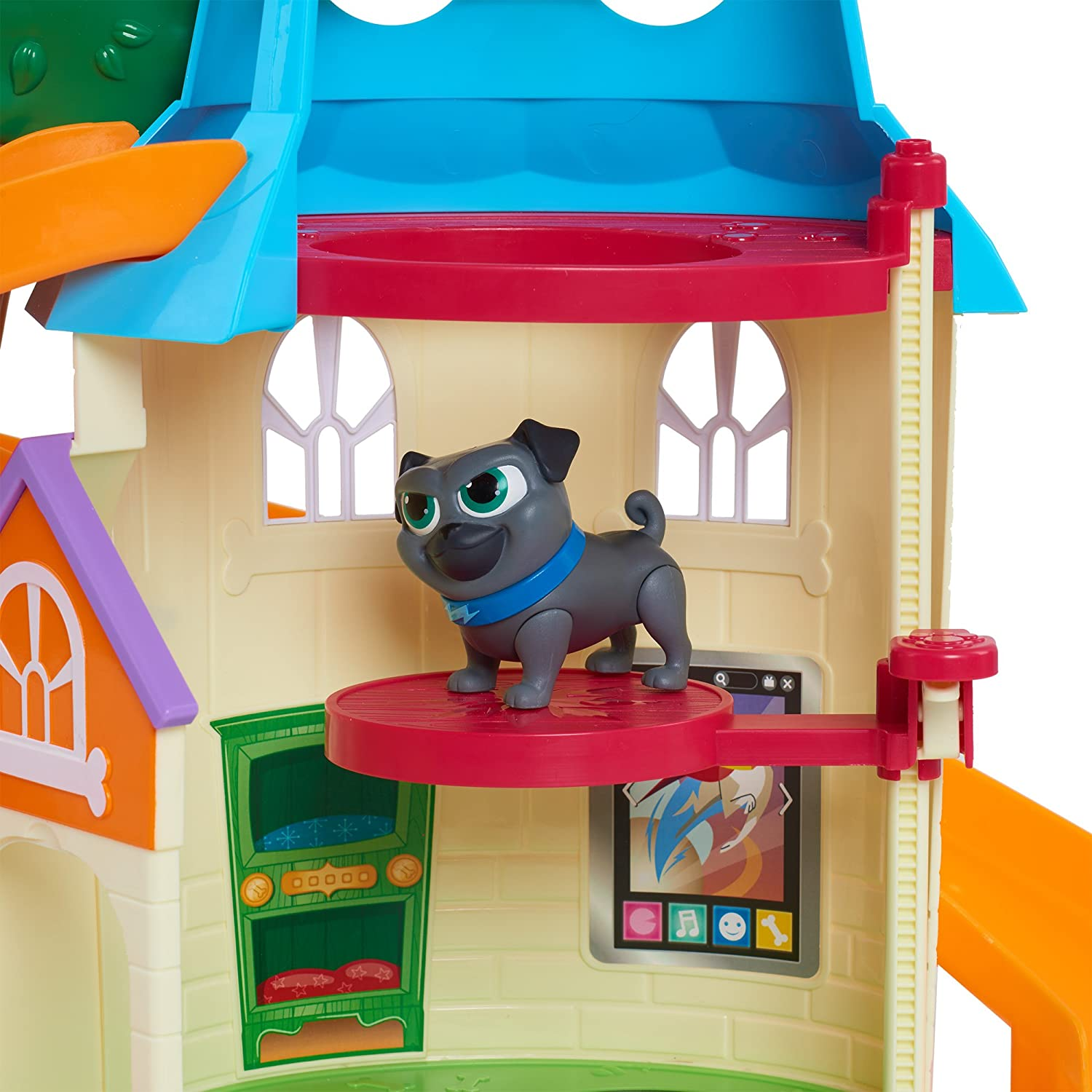 Puppy Dog Pals House Playset Kids Doghouse Toy Rolly Bingo Preschool