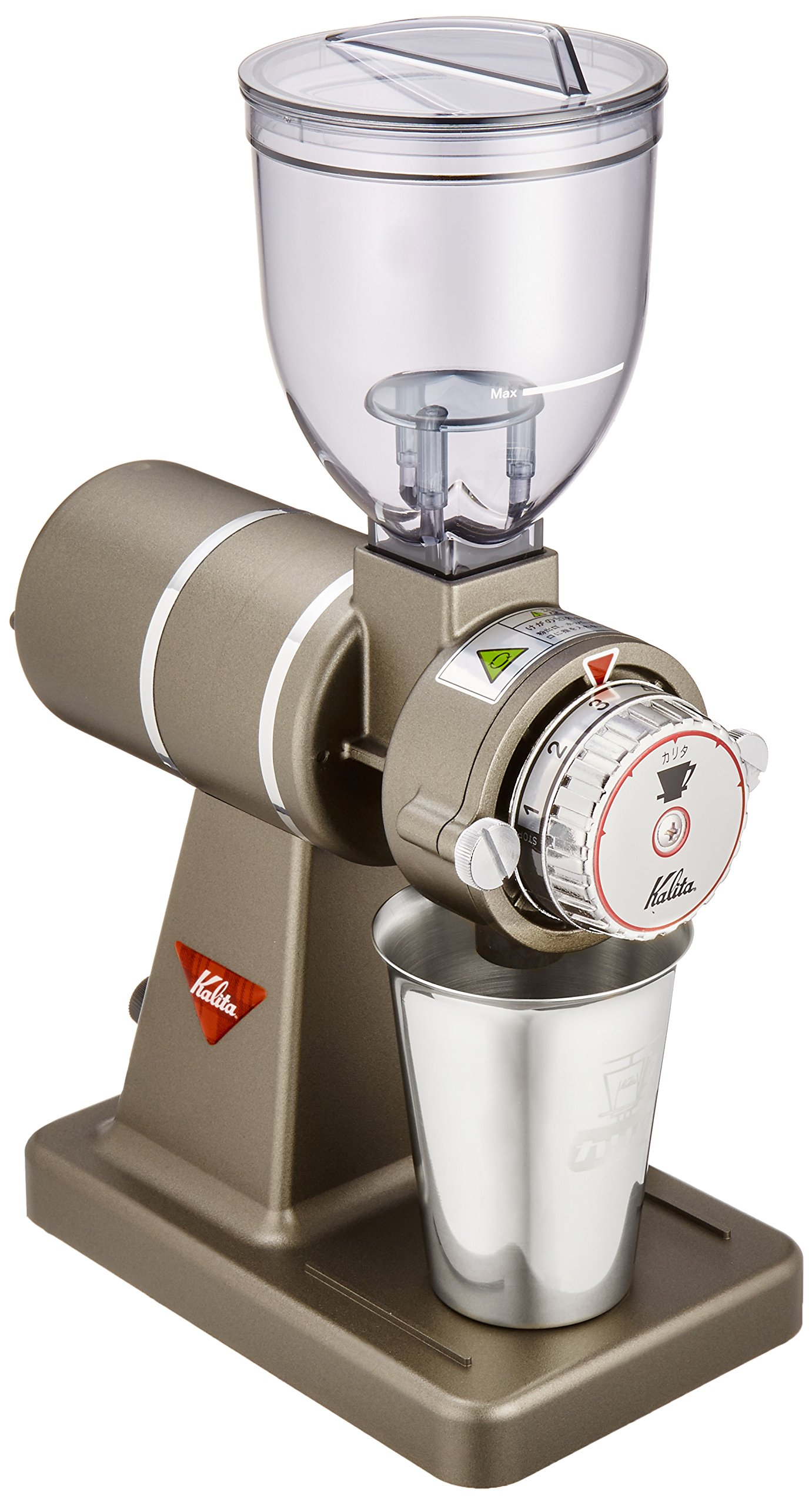 Kalita Electric Coffee Mill ''Nice cut G'' (Classic iron) 61101【Japan Domestic genuine products】