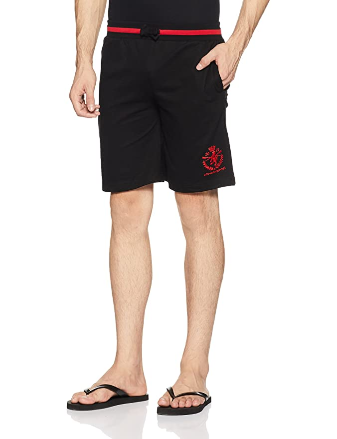 Chromozome Men's Cotton Shorts Men's Shorts at amazon