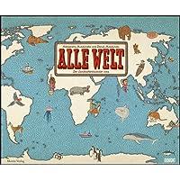 Alle Welt 2019 – Landkarten-Kalender von DUMONT– Kinder-Kalender – Querformat 58,4 x 48,5 cm