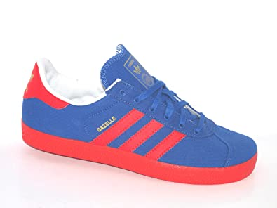 adidas gazelle blue and red