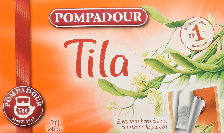 Pompadour Té Infusion Tila - 20 bolsitas
