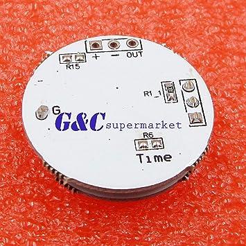 2PCS LED Microwave Radar Sensor for 3-12W Spherical Lamp Smart Switch 3.3-20V DC