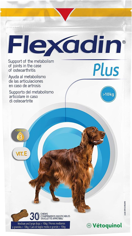 Vetoquinol 434564 Flexadin Plus MAX - 30 Comprimidos