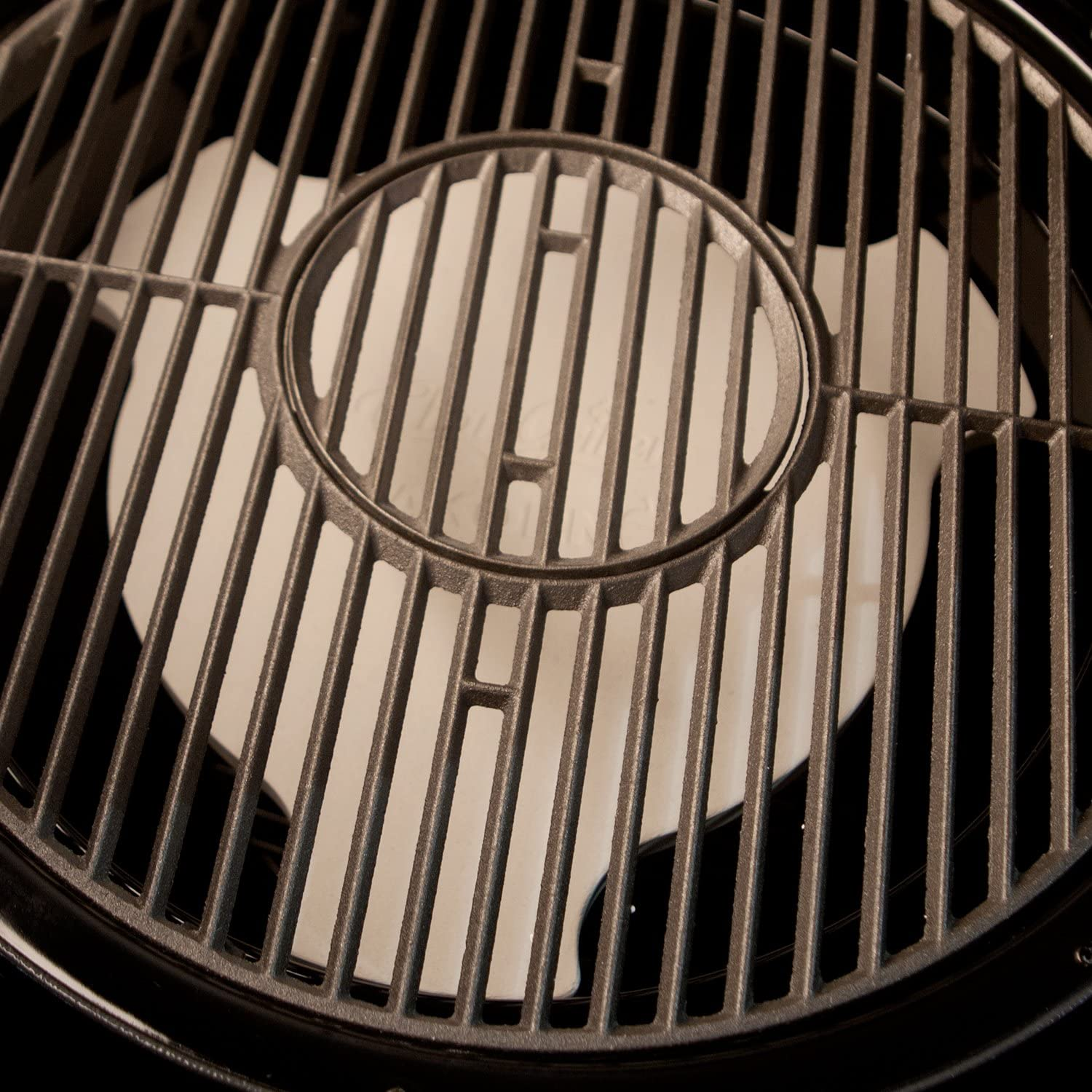 Char-Griller 6201 AKORN Smokin Ceramic Smoking Stone, Ivory : Combination Grill Brushes And Scrapers : Garden & Outdoor