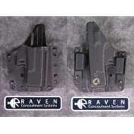 Raven Concealment Systems RCS Phantom Modular Full Shield OWB Holster, Black