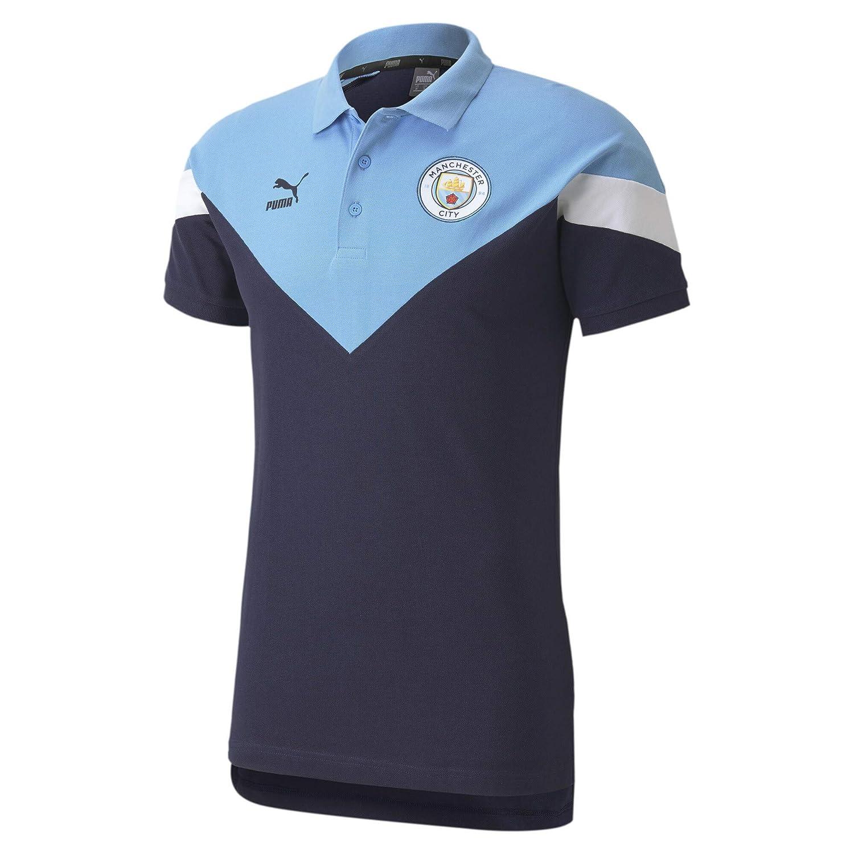 PUMA MCFC Iconic MCS Polo - Camiseta Polo Hombre: Amazon.es ...