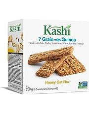 Kashi Seven Grain with Quinoa bars, Honey Oat Flax, Non-GMO, 200g