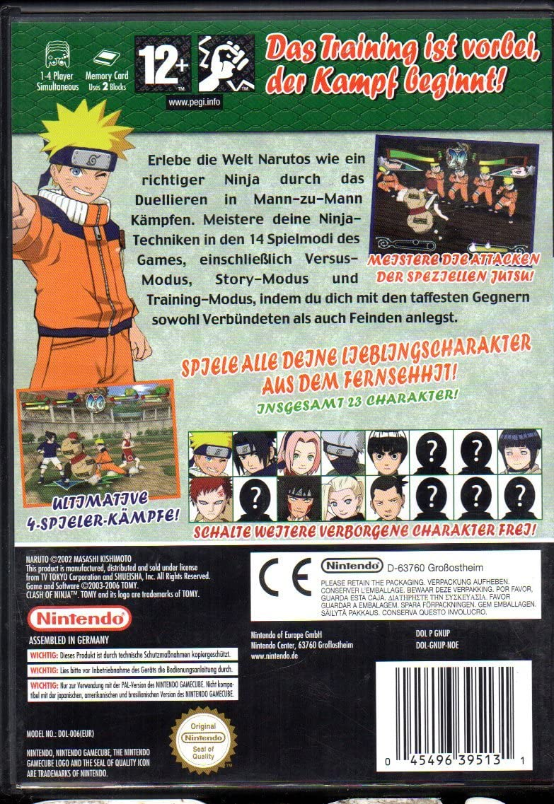 Amazon.com: Naruto: Clash of the Ninja: Video Games