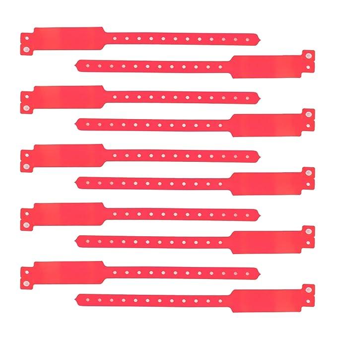 Gogo (precio/100piezas) (precio/100piezas) pulsera de vinilo, seguridad ID pulseras de tres capas, recuerdo de la fiesta