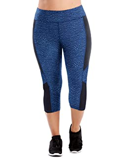08533a203b6 Just My Size Women s Plus Size Active Stretch Capri at Amazon ...