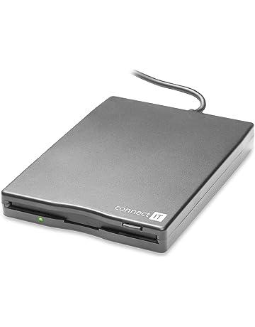 Connect IT CI-130 lectora de disquete USB 1.1 - Disquetes (100 ms,