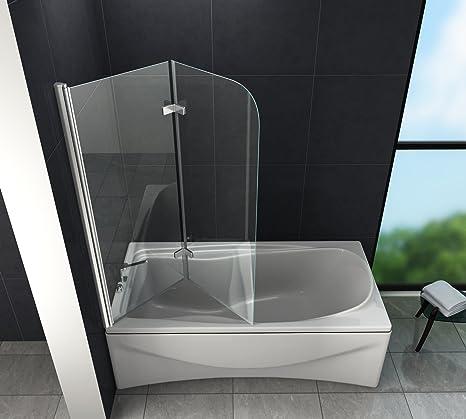 Brease – Mampara de ducha 100 x 140 (bañera): Amazon.es: Bricolaje y herramientas