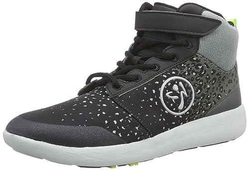 Zumba Footwear Zumba Court Flow High, Zapatillas de Gimnasia para Mujer, Gris (Black/Graphite), 35.5 EU: Amazon.es: Zapatos y complementos