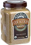 Rice Select Organic Whole Wheat Couscous, 26.5 oz Jar