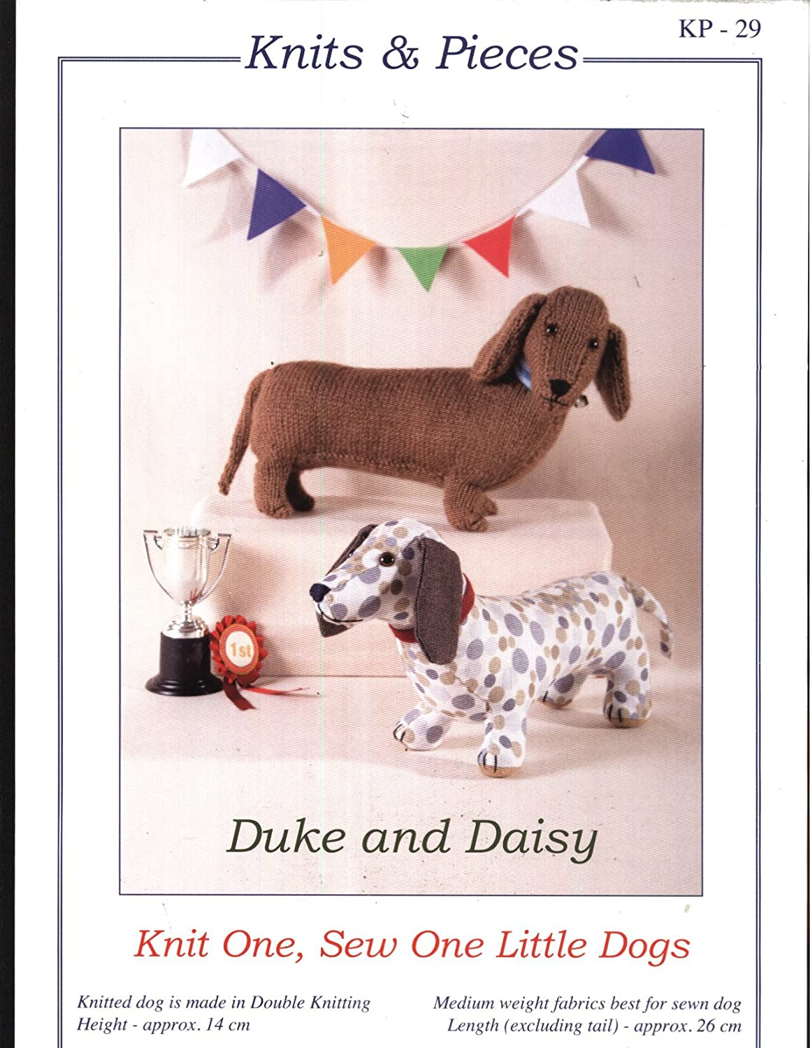 Knits and Pieces Knitting and Sewing Pattern : Duke and Daisy ...