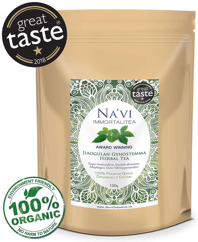 Premium Organic Whole Leaf Jiaogulan Gynostemma Herbal Tea: Amazon.es: Electrónica