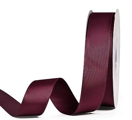 d9b756fc8ccf5 Amazon.com: YAMA Solid Grosgrain Ribbon Roll - 1 Inch 25 Yards for ...