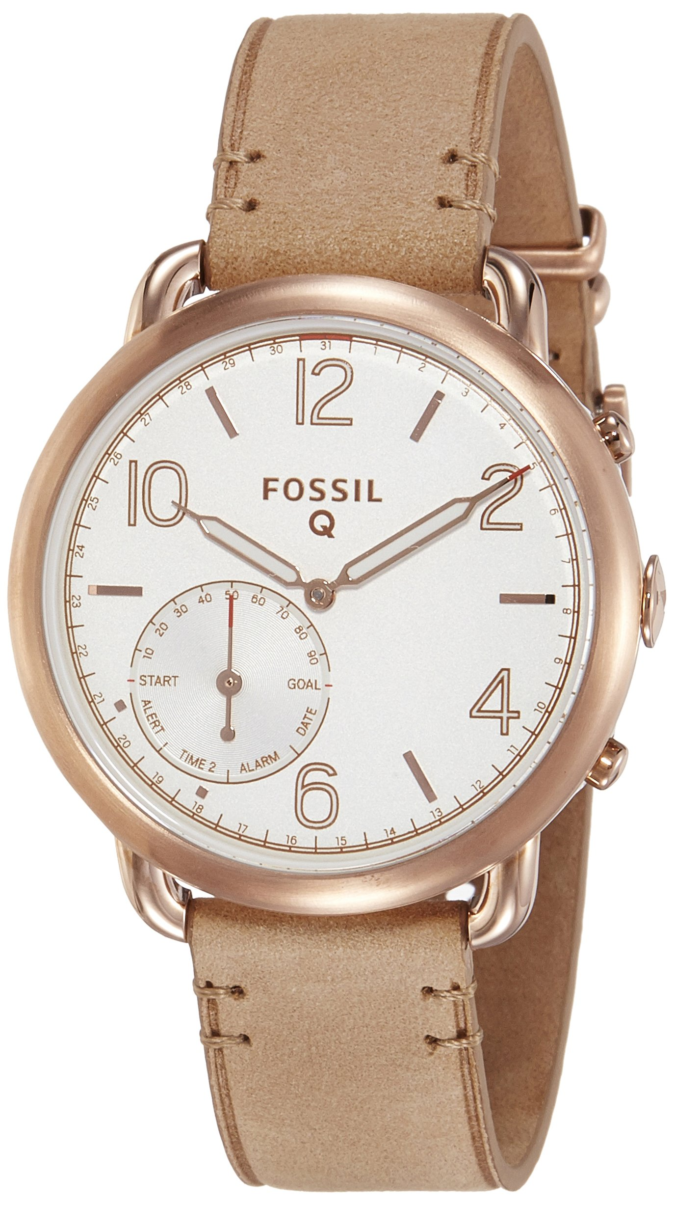 Fossil Hybrid Smartwatch - Q Tailor Light Brown Leather by Fossil