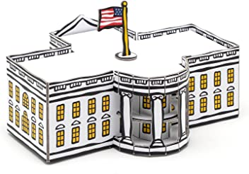 Marc Tetro Washington DC White House Pop-out Art