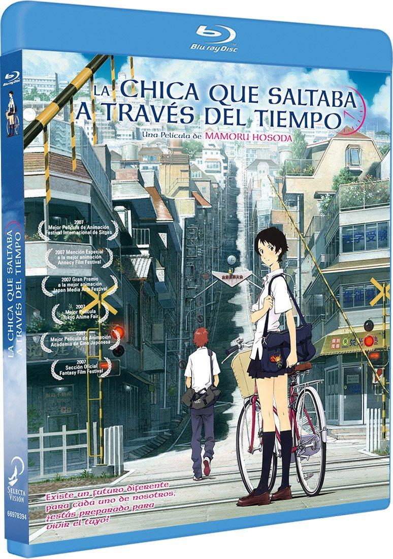 La Chica Que Saltaba A Través Del Tiempo Blu-Ray Blu-ray: Amazon ...