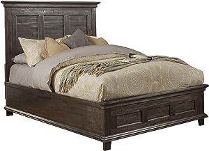Alpine Furniture Newberry Panel Bed, Queen Size