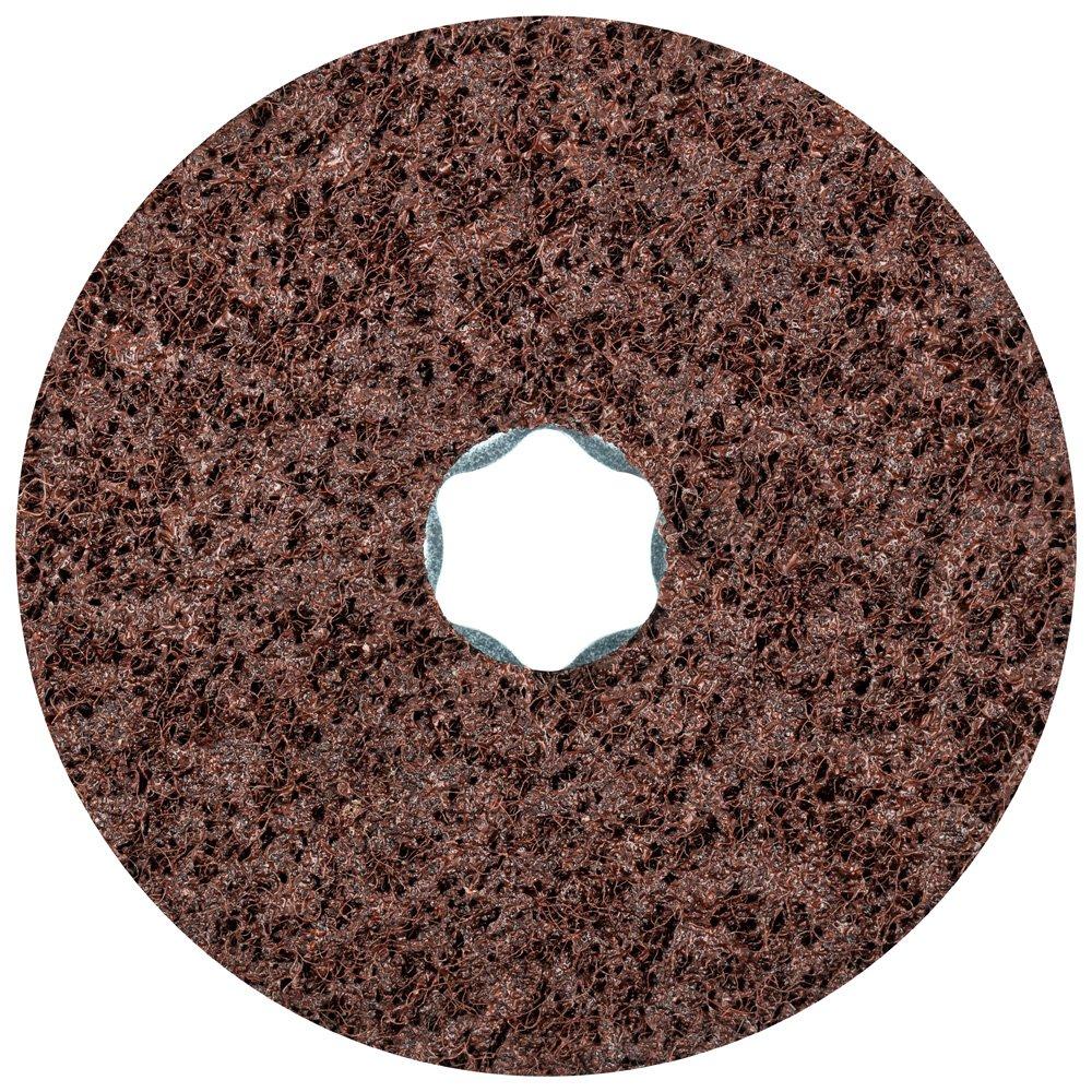 PFERD 48094 Combiclick Non-Woven Disc, Hard Type, 4'' Diameter, 12,000 RPM, Coarse Grit (Pack of 10)