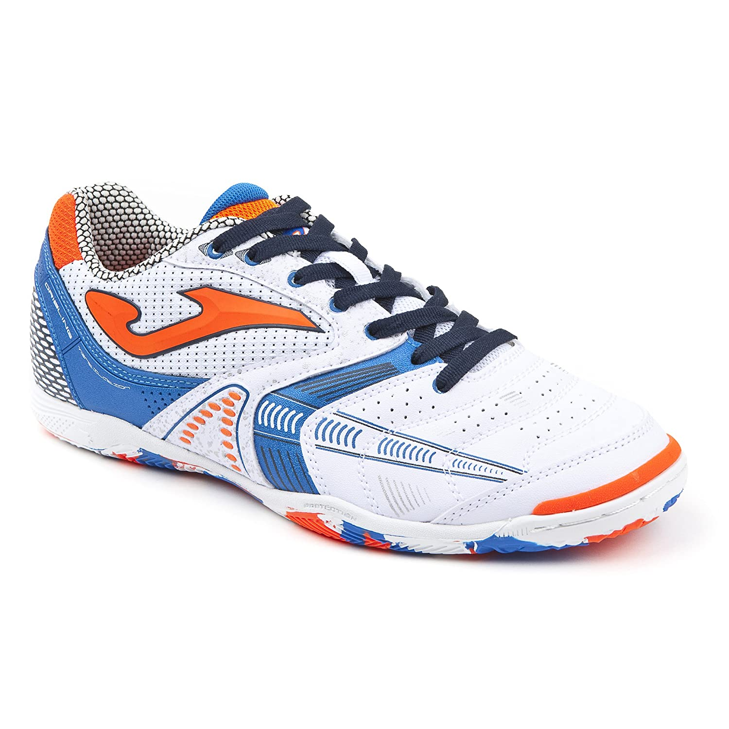 Joma Dribling 802 White Indoor – Chaussures Futsal Homme – DRIS.802.En Sportime2.0