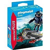 PLAYMOBIL Especiales Plus- Espía con Jet, única (9086)