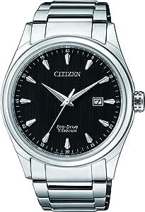 Citizen Reloj Analógico para Hombre de Cuarzo con Correa en Titanio BM7360-82E