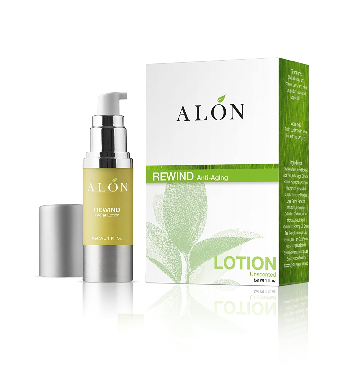 Alon Labs Rewind Facial Skin Rejuvenating Lotion for Rosacea