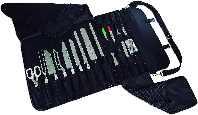 Compra Arcos 691400 - Bolsa para cuchillos, 520 x 920 mm (porta-cuchillos.) en Amazon.es