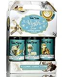 Jordan's Skinny Syrups Sugar Free Winter Syrup Trio - Cinnamon Vanilla, White Chocolate Mocha, Salted Caramel Swirl…
