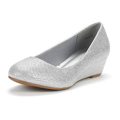 la femme de de rêve de femme debbie paires de souliers mi - wedge talon 5fce15