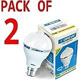 Oreva Sensor 6w Base B22 6-Watt LED Bulb (Pack of 2, White)