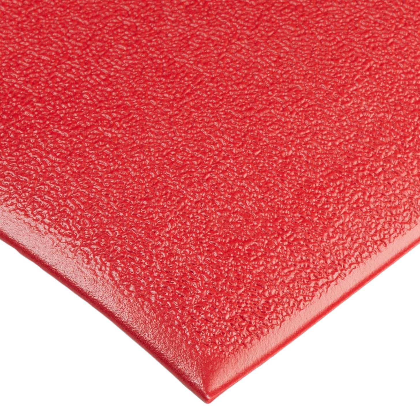 NoTrax C01S2048RD Kitchen Comfort Mat, 20'' Width x 48'' Length x 3/8'' Thickness, Red