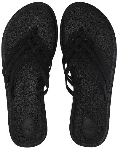 c00962bda Amazon.com  Sanuk Women s Yoga Salty Flip-Flop  Shoes