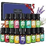 Homasy Caja De Aceites Esenciales, 10 X 5 ml Aceites Esenciales Orgánicos Puros Al 100% Para Difusor/Humidificador, El…