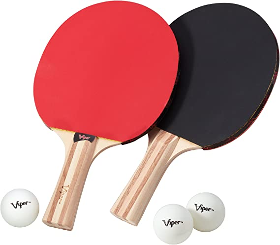 Viper Table Tennis Accessory Set (Rackets/Paddles and Balls)