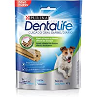 Nestlé Purina Dentalife Petisco para Cães Adultos Raças Pequenas Frango 42g Dentalife Para Akita Pequeno Adulto, Sabor Frango Pequeno