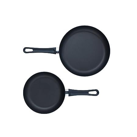 Scanpan Classic 2 Piece Fry Pan Set, Black