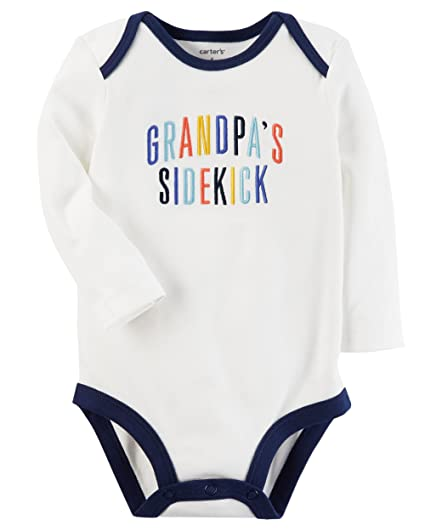 78ddb0a0a Amazon.com  Carter s Baby Boys  Grandpa s Sidekick Collectible ...
