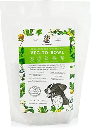 ever popular best selling various colors Dr. Harvey's Veg-to-Bowl Dog Food, Human Grade Dehydrated Base Mix for  Dogs, Grain Free Holistic Mix