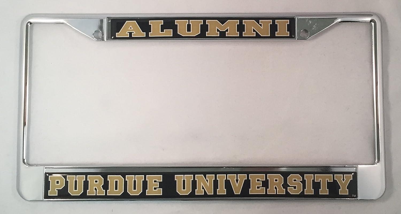 Amazon.com: Purdue University Alumni License Plate Frame: Garden ...