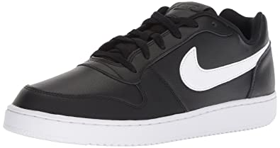 new product 43f50 b200a Nike Men s Ebernon Low Black White Sneakers (AQ1775-002) (11 UK
